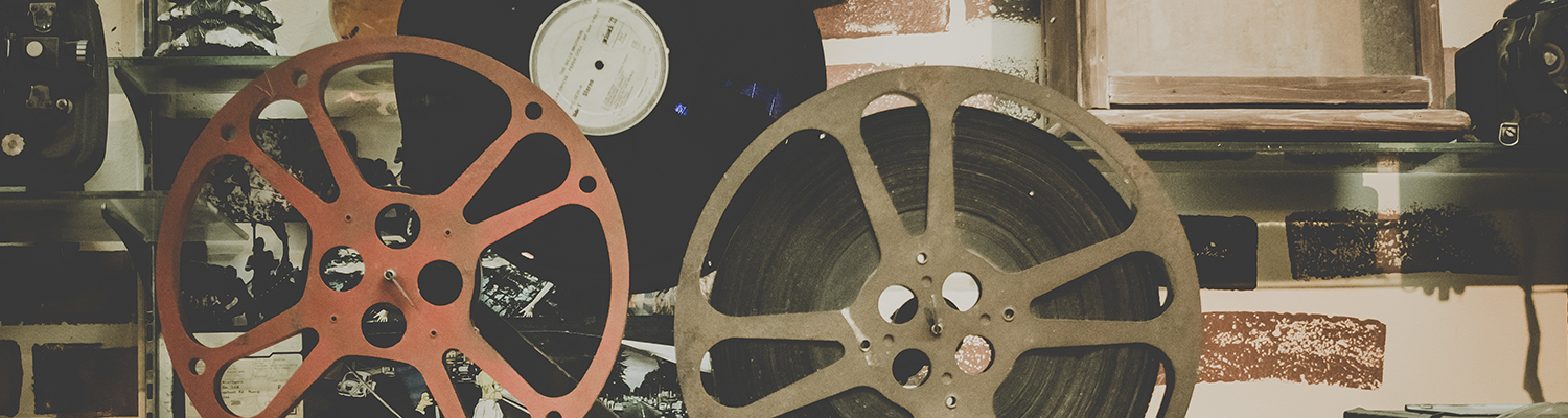 A picture of film reels