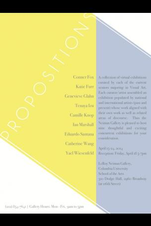 Propositions poster