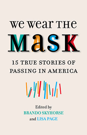 Cover of We Wear the Mask anthology